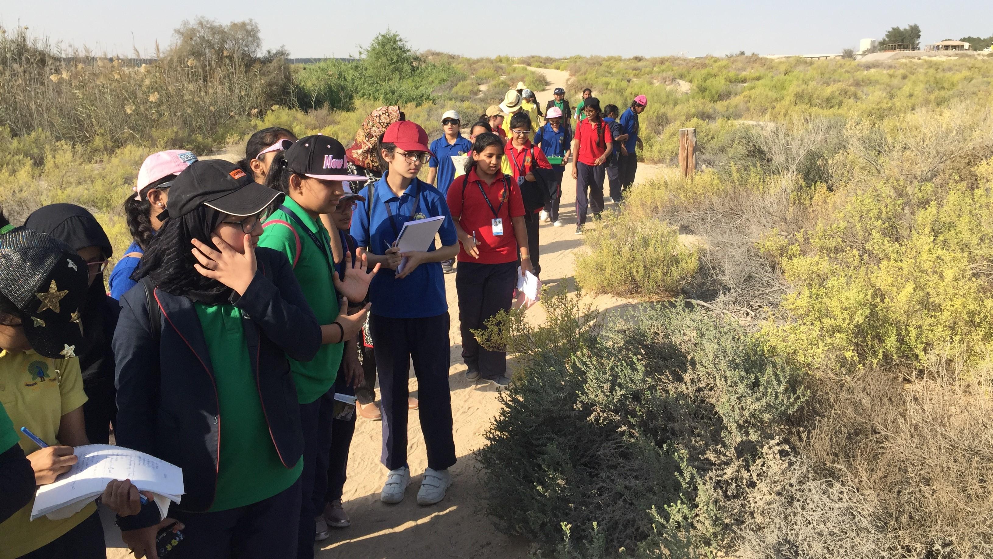 Eco_Chmapions_I_Mayoor_School_Abu_Dhbai_I_Al_Wathba_Wetland