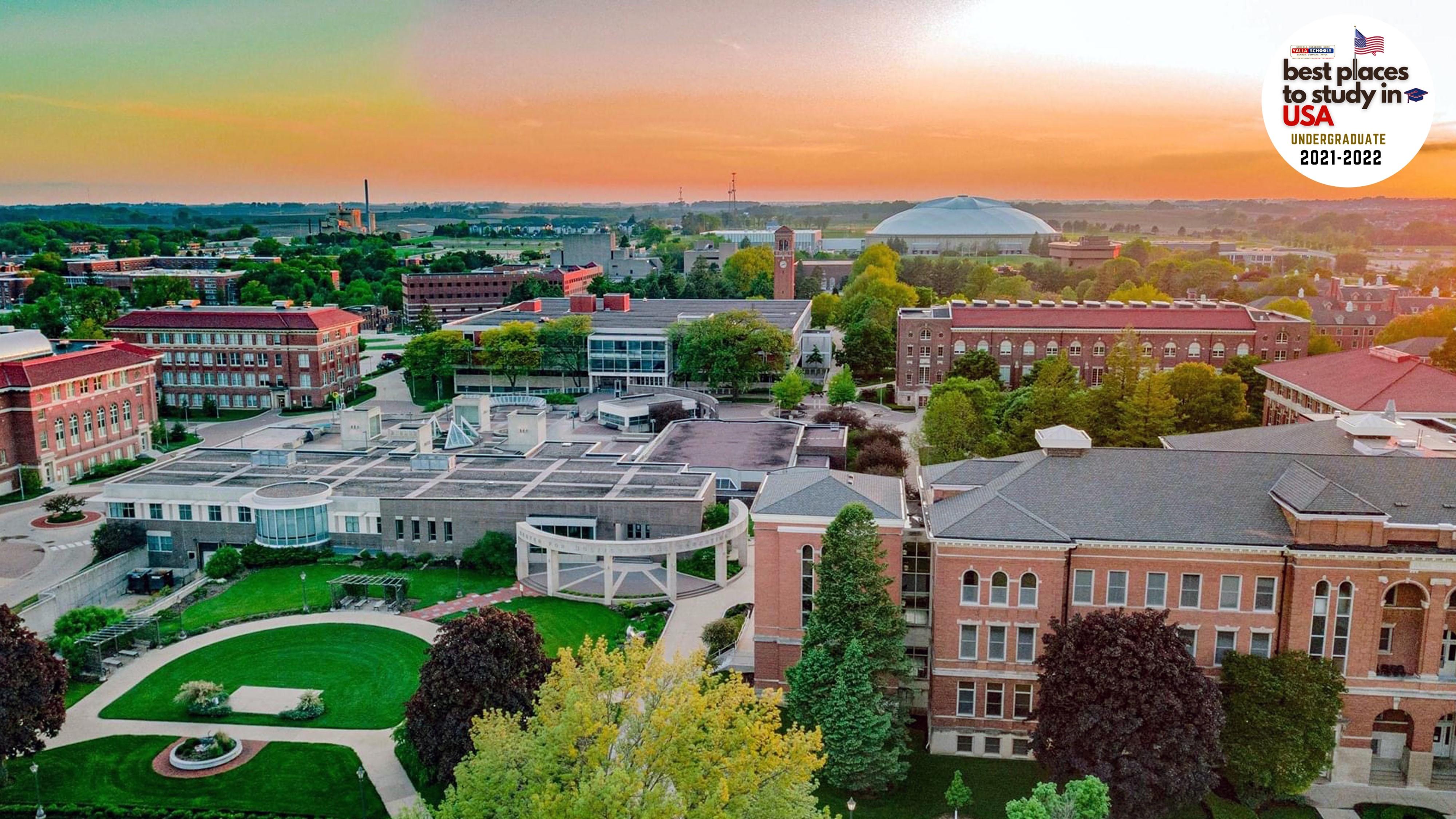 University_of_Northern_Iowa_Campus
