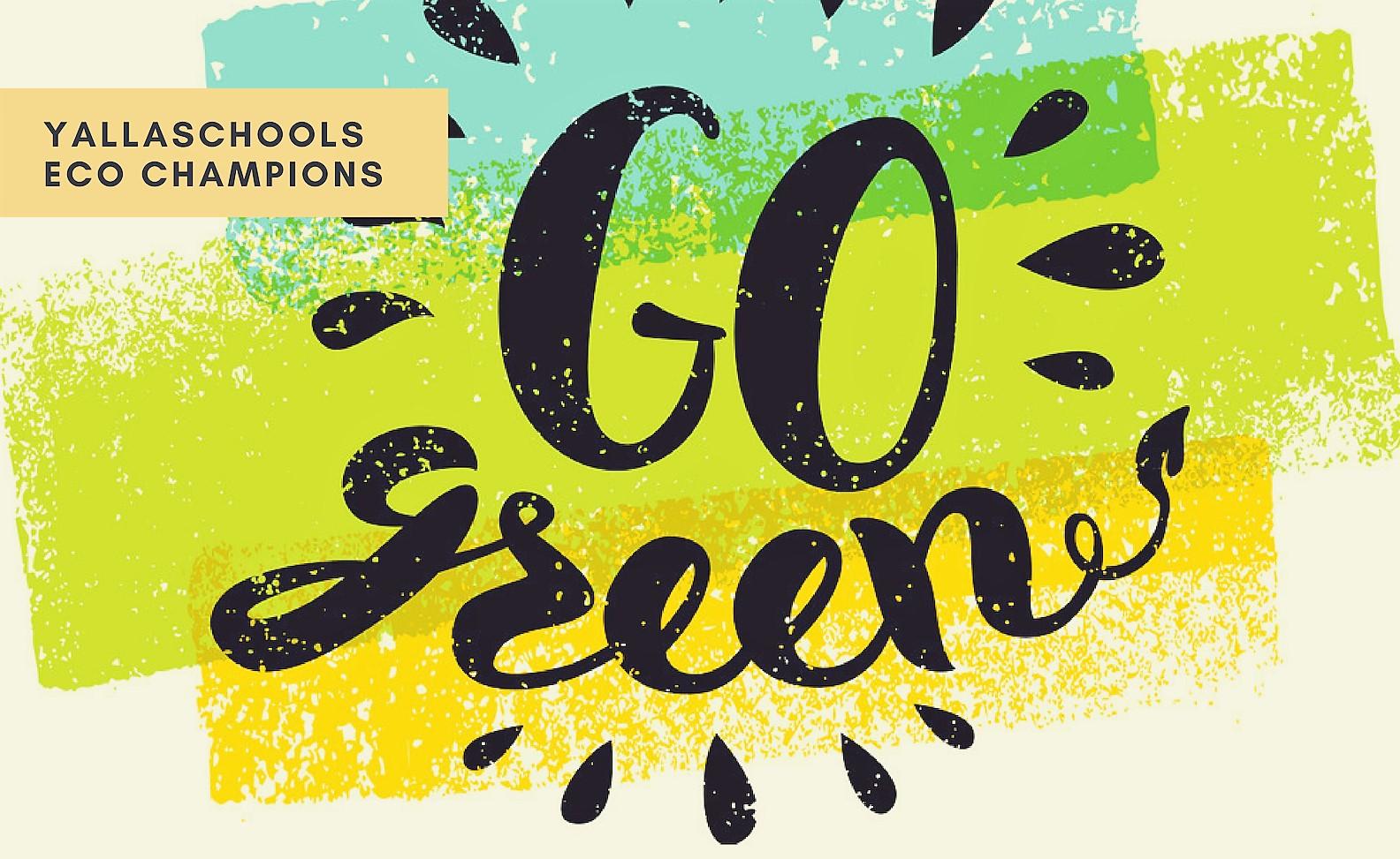 Yallaschools_com_I_Eco_Champions_Logo
